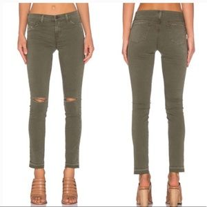 • J Brand • Skinny Leg Jeans Jungle Green